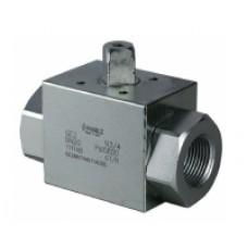 Шаровый кран, 2-ходовой, углеродистая сталь, Dn6-50, Pn350-500 BSP/NPT/приварка встык/ сварка внахлест