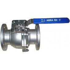 (2) Шаровые краны полнопроходные нержавеющие из стали AISI316 (CF8M) DN15-150. DN15-50/PN40, DN65-150/PN16 фланец/фланец Тип ABRA-BV41